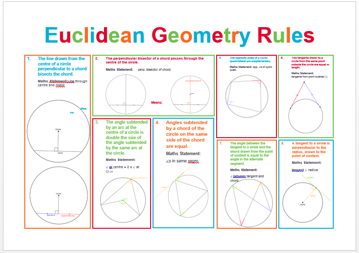 euclidean geometry rules maths at sharp