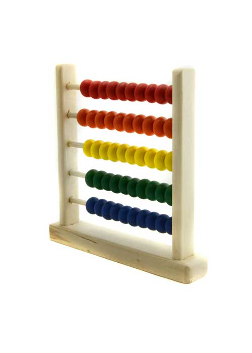 Abacus to learn adding and subtracting