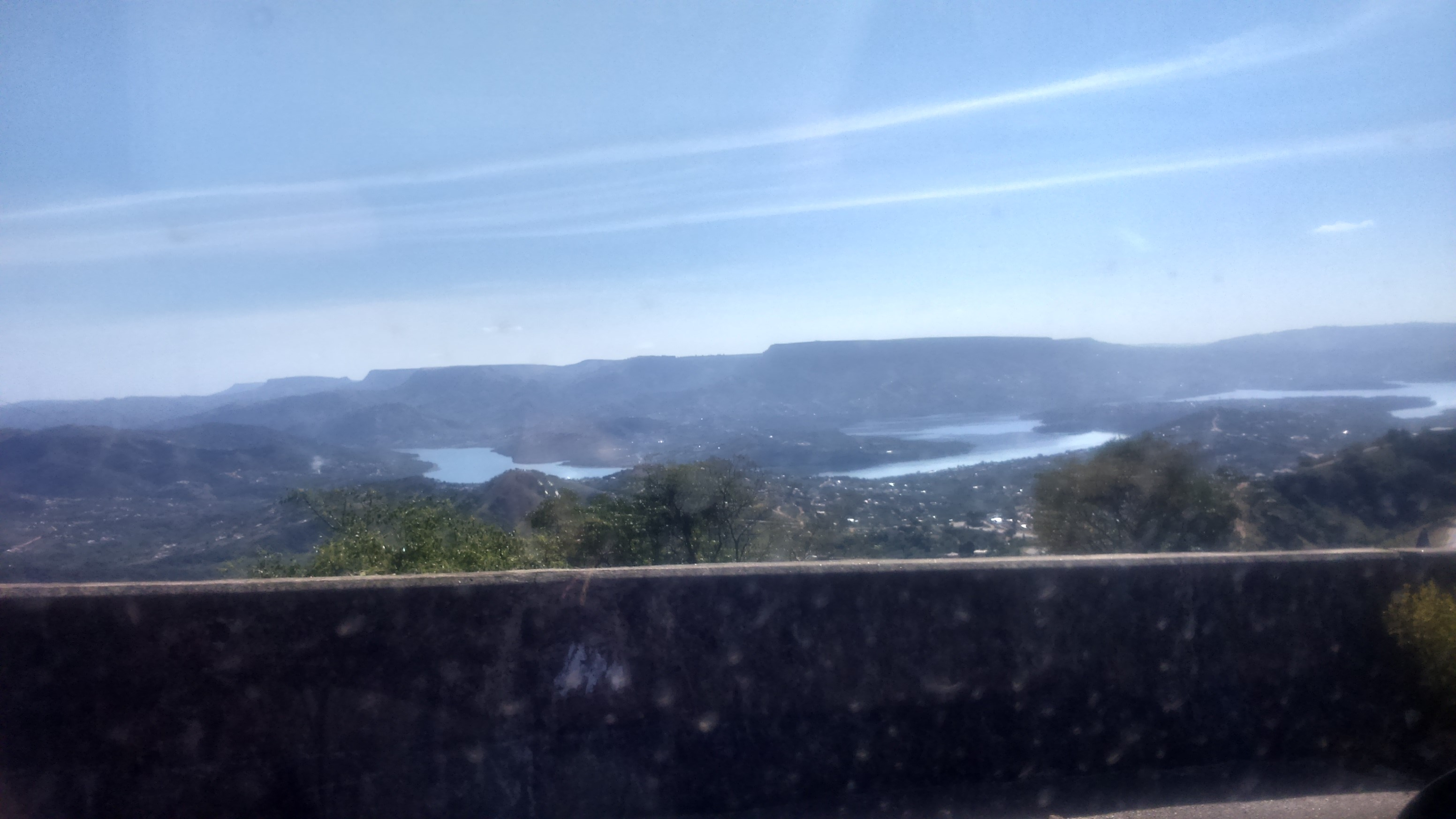 the view over Inanda Dam in Kwa-Zulu Natal - magnificent