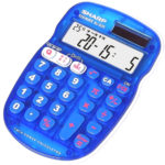 The new Sharp S25 Quiz Calculator