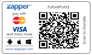 #futureFund scan to donate with Zapper