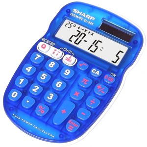 Sharp S25 junior quiz calculator