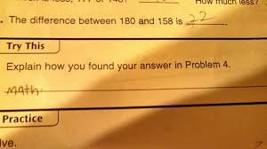 funny maths answer