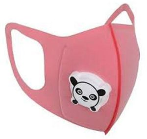 pink childrens face mask