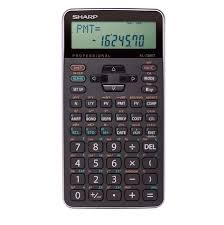 Sharp EL-738XTB financial calculator