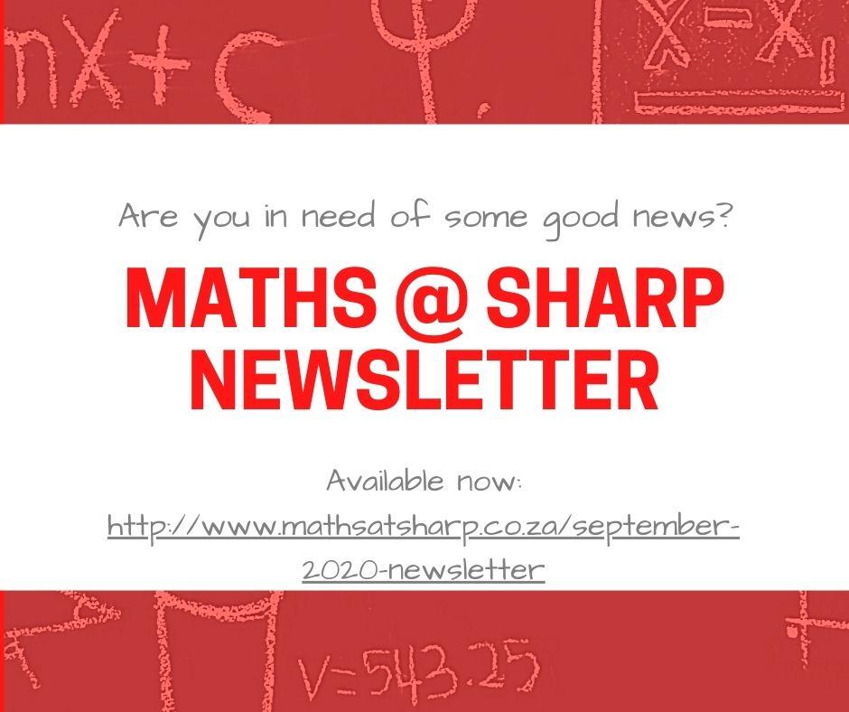 maths at sharp newsletter spring header