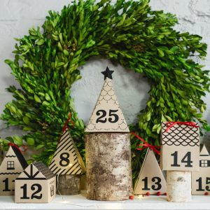 lia griffith paper house advent calendar